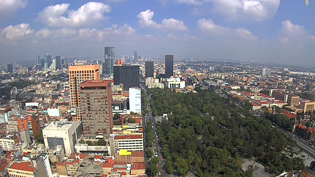 Foto: No se han reportado daños por los microsismos en la Ciudad de México, 18 de julio de 2019 (Twitter @webcamsdemexico)