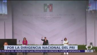 Debaten candidatos a la dirigencia del PRI