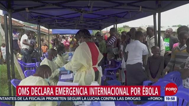 Foto: Declaran Emergencia Mundial Brote Ébola Congo 17 Julio 2019