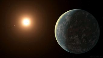 Foto: Recreación del nuevo sistema solar por la NASA y TESS Media. 31 julio 2019