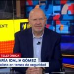Desinformación, el problema de fondo en la Policía Federal, dice María Idalia Gómez
