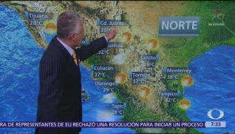 Despierta con Tiempo: Calor y lluvias en la República Mexicana