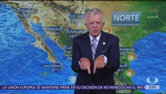 Despierta con Tiempo: Frente estacionario provoca lluvias en Veracruz