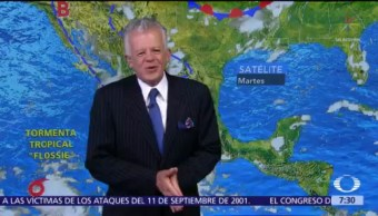 Despierta con Tiempo: Huracán 'Flossie' se aleja de México