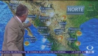 Despierta con Tiempo: Prevén chubascos en el Valle de México
