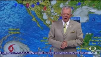 Despierta con Tiempo: Prevén lluvias muy fuertes en Valle de México