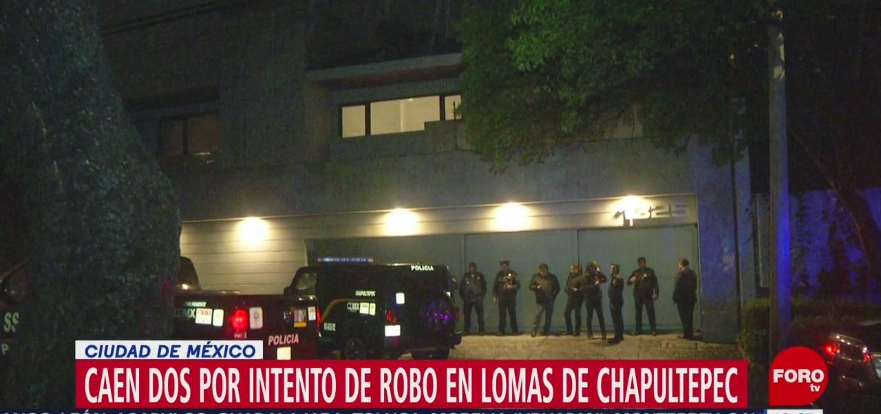 Detienen a 2 extranjeros por intento de robo a casa de Angélica Rivera