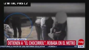 FOTO: Detienen a 'El chocorrol', líder de banda de ladrones de celulares