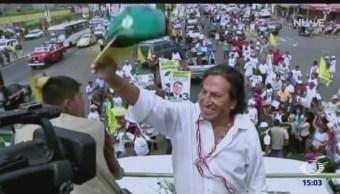 Detienen en Estados Unidos al expresidente peruano Alejandro Toledo