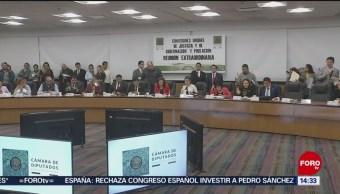 Foto: Diputados Aprueban General Ley Extinción Dominio 25 Julio 2019