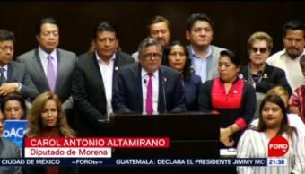 Foto: Diputados Ratifican Arturo Herrera Secretario Hacienda 18 Julio 2019