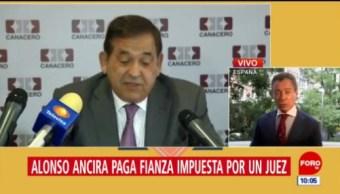 Director de Altos Hornos paga fianza en España