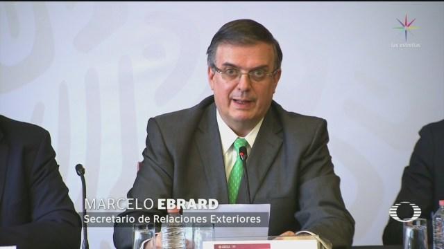 Foto: Ebrard Asegura México No Convertirá Tercer País Seguro 15 Julio 2019