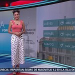 Clima A las Tres Daniela Álvarez 31 julio 2019