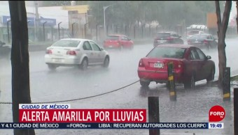 FOTO: Emiten alerta amarilla por lluvia en 9 alcaldías de CDMX, 27 Julio 2019