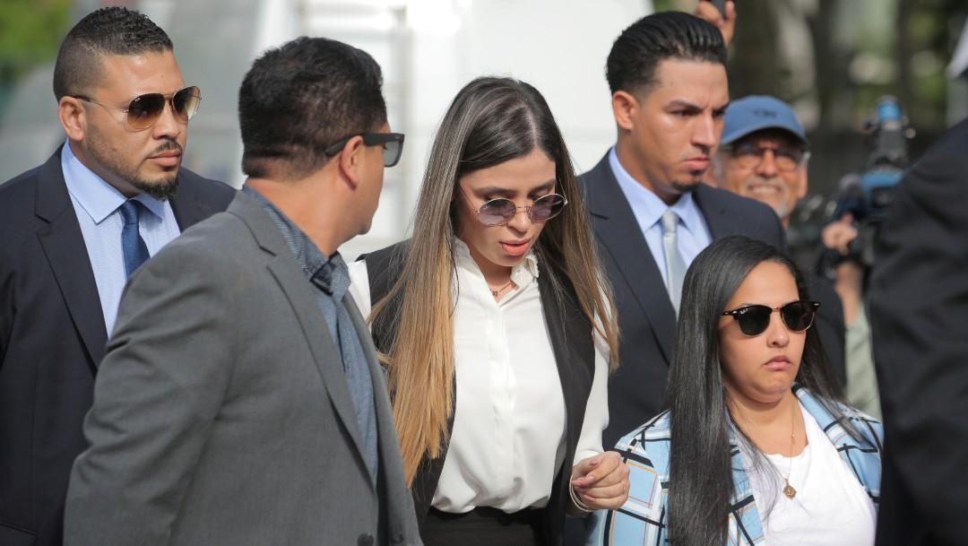 Foto: Emma Coronel, esposa de Joaquín 'El Chapo' Guzmán, 17 de julio de 2019, Nueva York