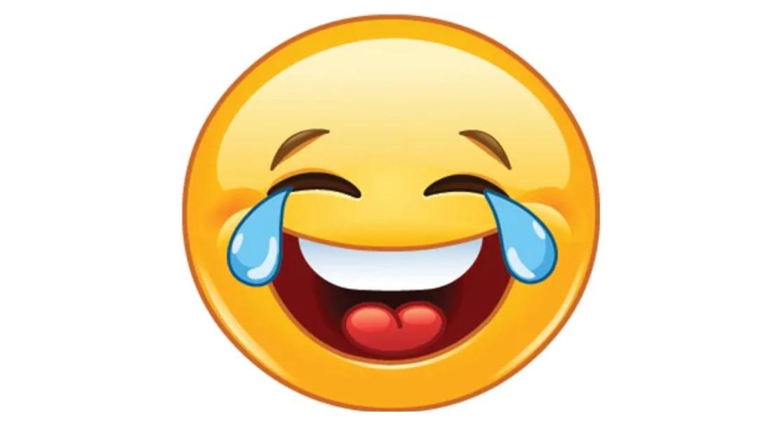 Foto: Emoji sonriente con lágrimas