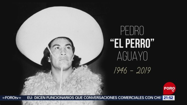 Foto: Muere El Perro Aguayo 3 Julio 2019