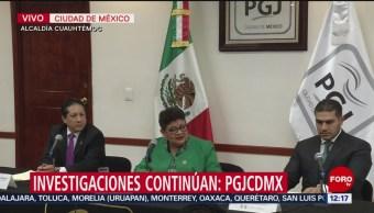 Ernestina Godoy señala que no ha terminado la investigación por Norberto Ronquillo