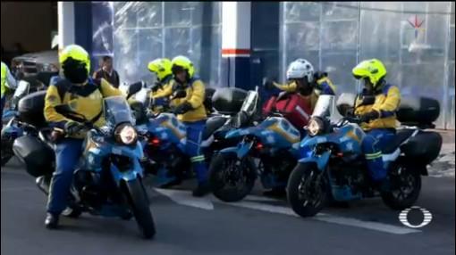 Foto: Erum Moto Ambulancias Motocicletas Atender Emergencias 15 Julio 2019