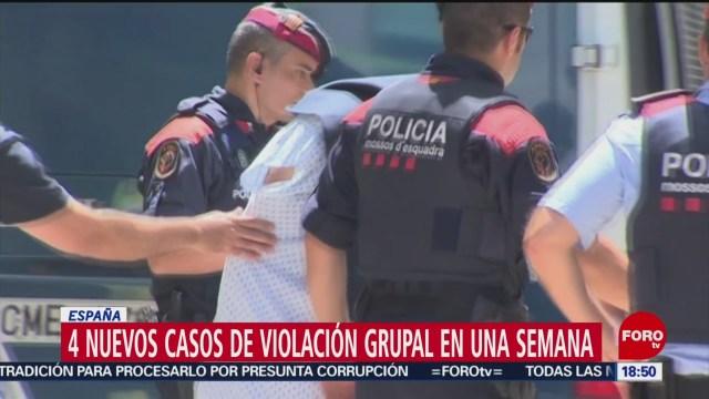 Ataque sexual en grupol en España