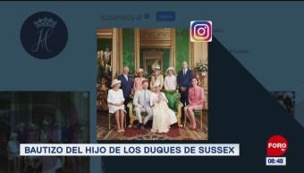 #EspectáculosenExpreso: Bautizo del hijo de los Duques de Sussex