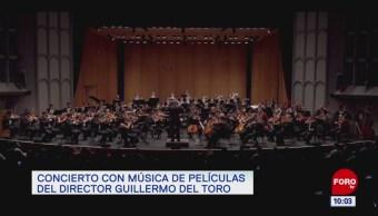 #EspectáculosenExpreso: Concierto con música de películas del director Guillermo del Toro