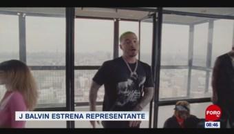 #EspectáculosenExpreso: J Balvin estrena representante