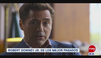 #EspectáculosenExpreso: Robert Downey Jr. de los mejor pagados