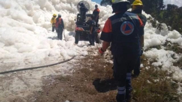 Entregan cuerpo de hombre que cayó a río Valsequillo, en Puebla