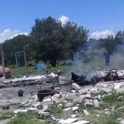Explota polvorín en Tlaxcala; mueren dos mujeres