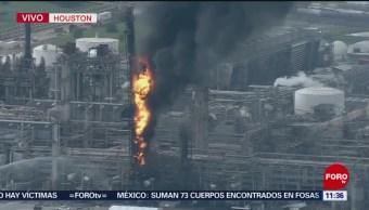 Explosión e incendio en refinería de Texas, Estados Unidos