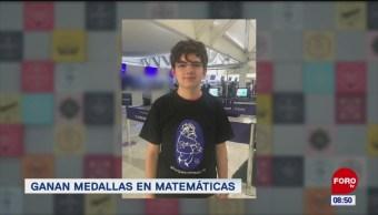 Extra, Extra: Ganan medallas en matemáticas