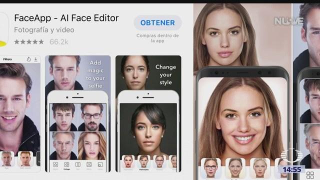 Foto: Faceapp Significa Reacción Gusta Divierte 25 Julio 2019