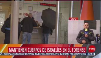 Foto: Familiares Israelíes Asesinados Artz Pedrega Pgjcdmx 25 Julio 2019