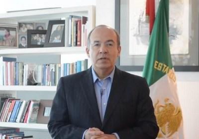 Calderón niega estar detrás de protestas de PF; exige a Durazo presentar pruebas