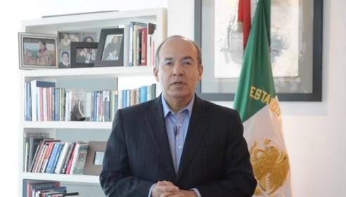 Foto: Felipe Calderón, expresidente de México. 4 de junio 2019. Twitter @FelipeCalderon