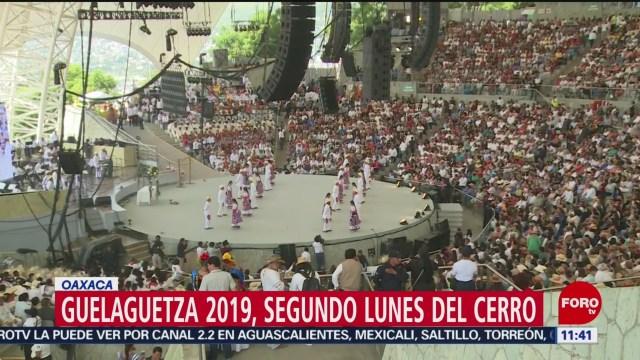 Festejan el segundo Lunes del Cerro en la Guelaguetza 2019