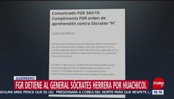 FGR detiene a general retirado, los acusan por huachicol