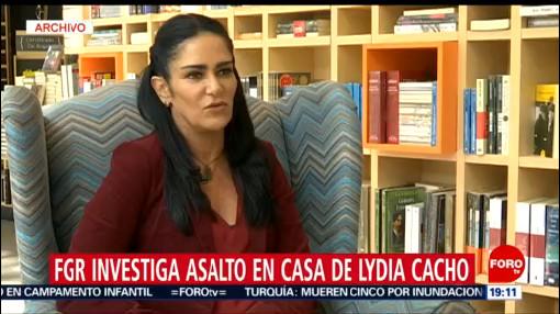 Foto: Robo Casa Lydia Cacho 23 Julio 2019