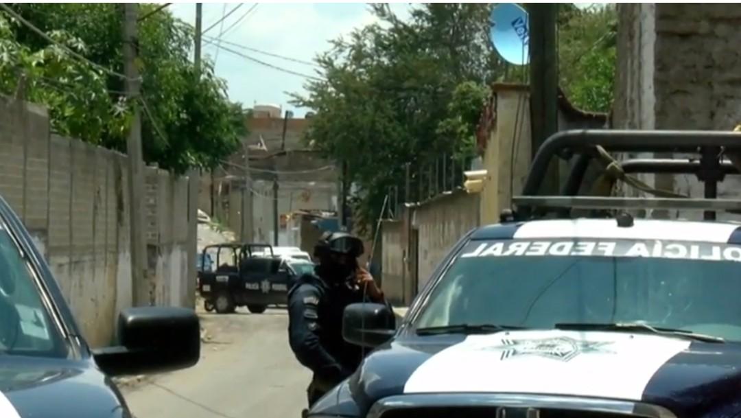 Foto: Policías en finca de Tonalá, Jalisco, 23 de julio de 2019