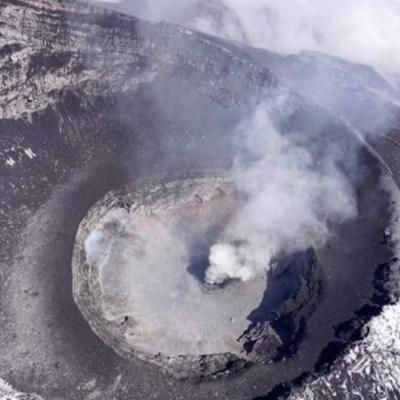 Detectan formación de nuevo domo en el volcán Popocatépetl