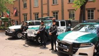 Foto: Presentan las nuevas patrullas de la Policía de la Ciudad de México. El 9 de julio de 2019