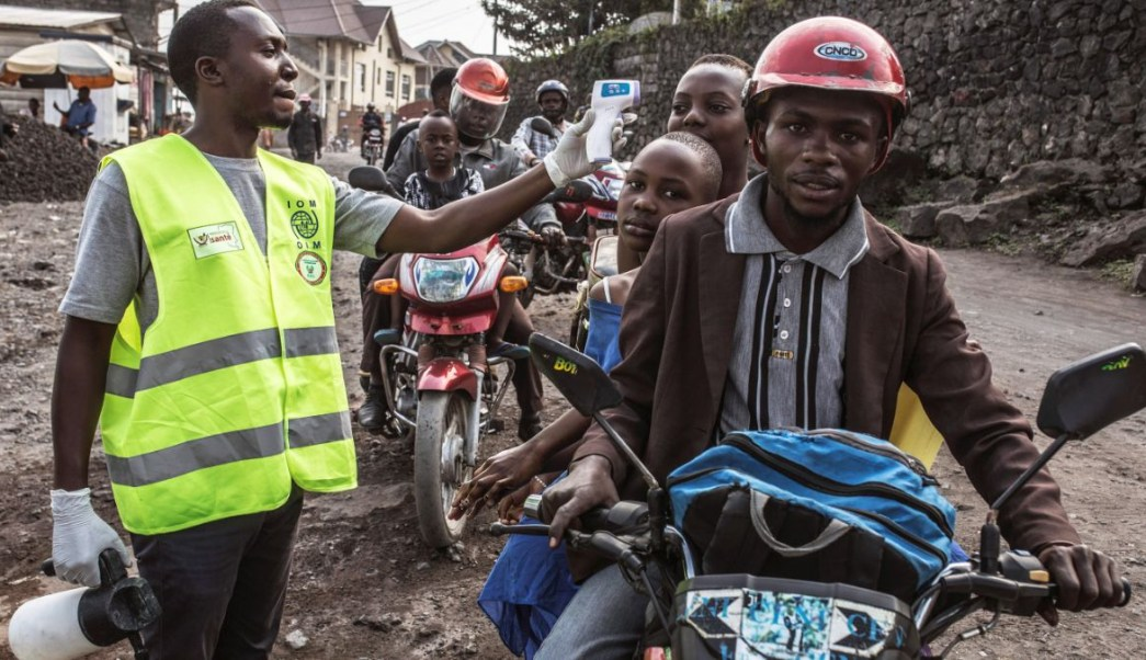Foto: La República Democrática del Congo confirmó el primer caso de ébola en la ciudad de Goma. El 15 de julio de 2019