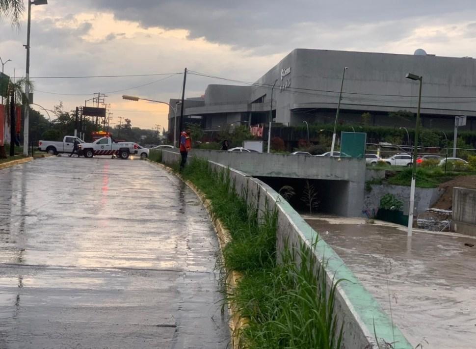 Foto: Encharcamientos en la calle López Mateos y Bugambilias, Jalisco