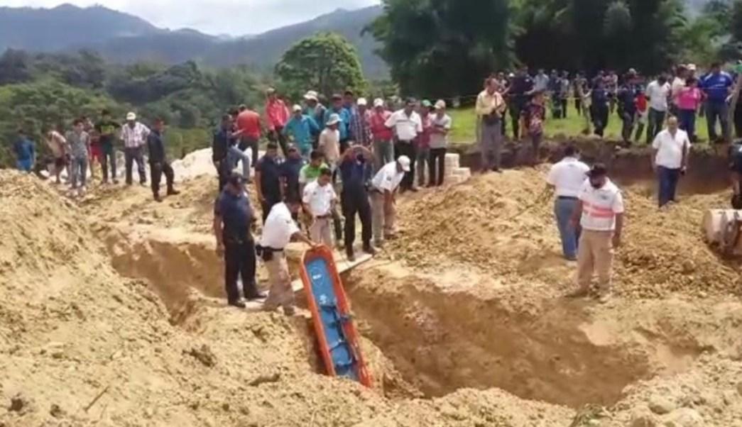 Muere trabajador durante alud en Chiapas