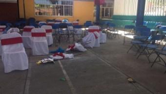 Foto: La balacera ocurrió en un kínder del municipio de Guadalupe Santa Ana, en Puebla. El 5 de julio de 2019