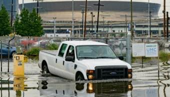 """Foto: El gobernador de Louisiana, John Bel Edwards, declaró estado de emergencia por la tormenta """"Barry"""". El 10 de julio de 2019"""
