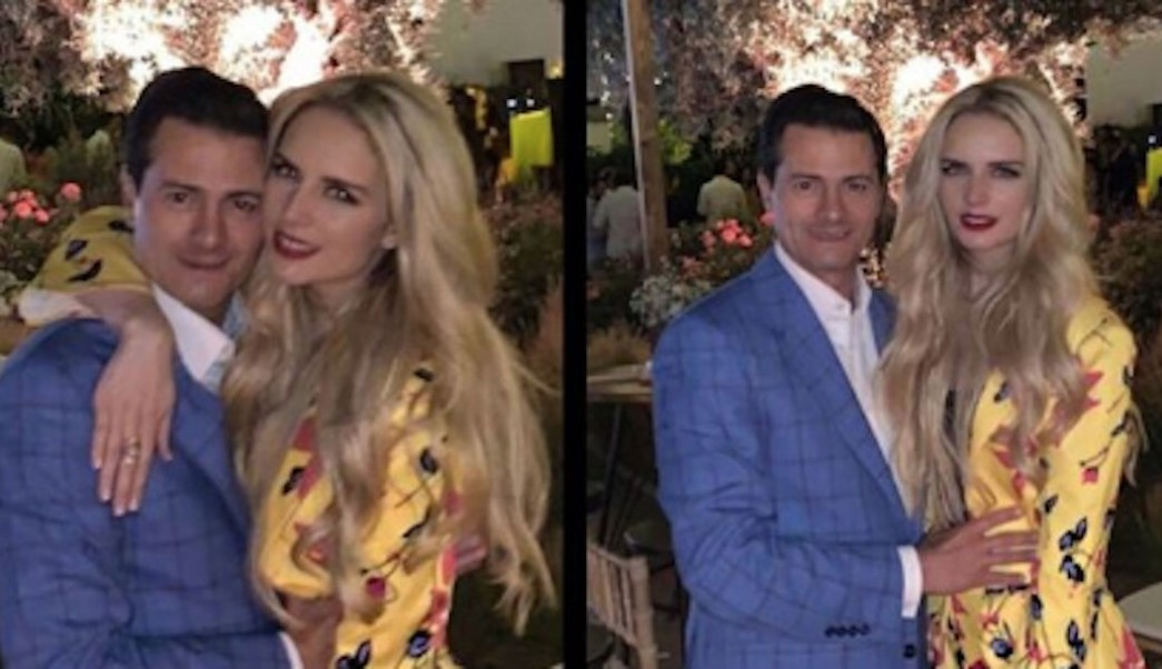 Foto Tania Ruiz comparte en redes fotos de su romance con Enrique Peña Nieto 5 julio 2019