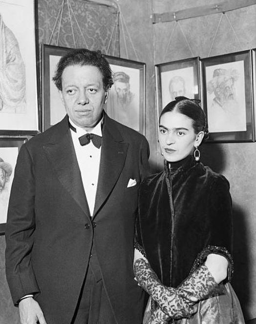 Frida Kahlo se casó con el muralista Diego Rivera en 1929